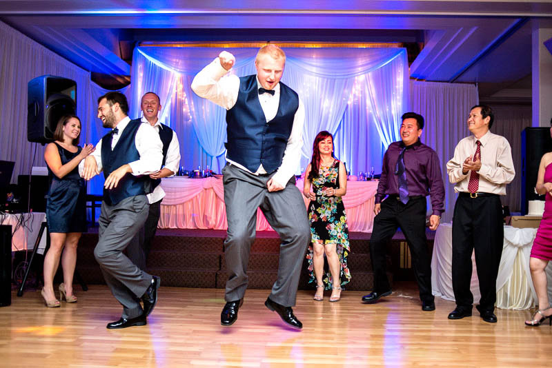 dancing at house of hong seattle wedding